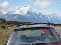 Da isser! Mt. Cook!