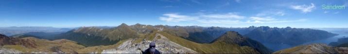 Krasse Aussicht vom Gipfel