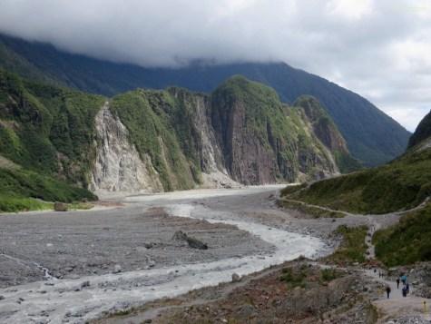 Hier war vor 10 Jahren noch überall der Gletscher