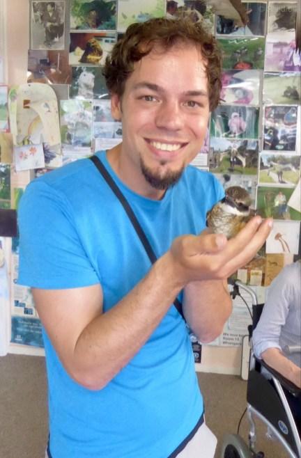 Kleines Kingfisher Baby!
