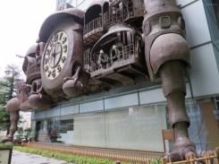 Studio Ghibli Uhr in Tokyo