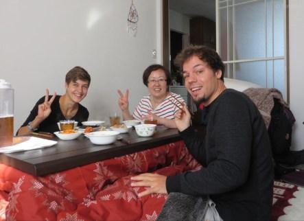 Frühstück am letzten Morgen :)