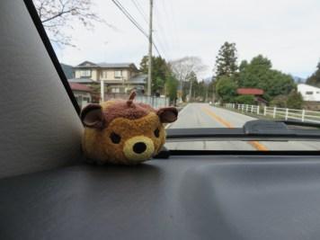 Bambi, unsere neue Reisegefährtin.