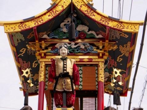 Eine der Marionetten.