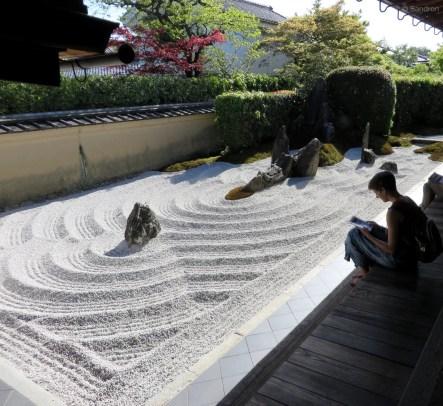 Im Zen-Garten