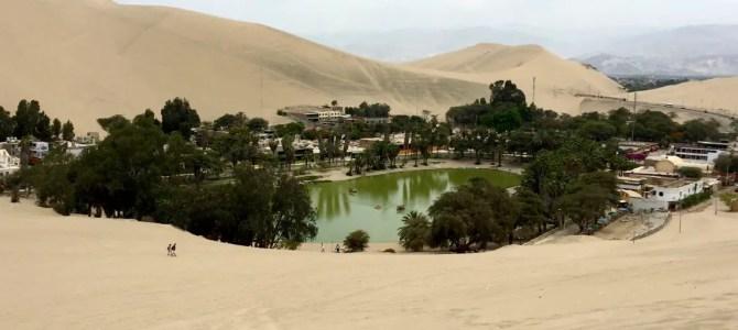 Huacachina – die erfrischende Oase Perus