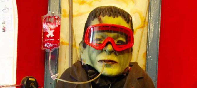 Frankenstein: ein schrecklich nettes Hostel
