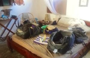 Nach 366 Tagen mit Kofferpacken und aus dem Koffer leben: allerletztes Mal Kofferpacken auf unserer #weltreize, hier auf Sansibar