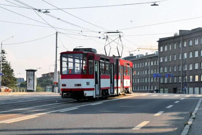 Tallinn-Straßenbahn-Lieschenradieschen-Reist