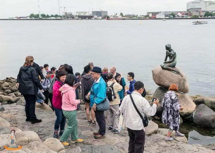 Kopenhagen-kleine-Meerjungfrau-Genussbummler