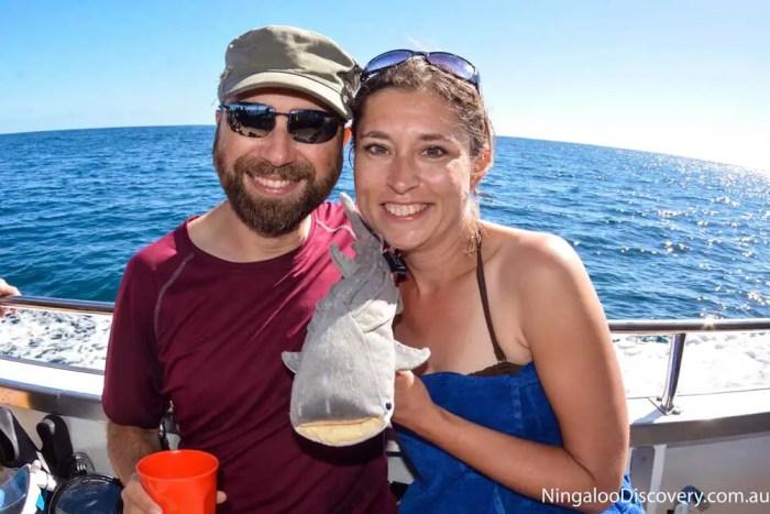 Claudia-Dominik-Walhai-Ningaloo-Reef-Australien