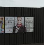 Rechte Sprüche bei den Sozialdemokraten - Dänisches Wahlplakat 2015. (Foto: Bomsdorf)
