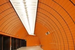 Tunnel, U-Bahn-Halt Marienplatz
