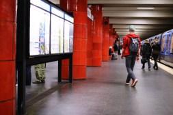 Ausstieg - U-Bahn-Halt Odeonsplatz