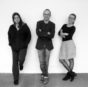 Gründungsvorstand Weltveränderer 2017-2018, vlnr. Sandra Schopper, Harald Kreutzer, Marlene Lehmann