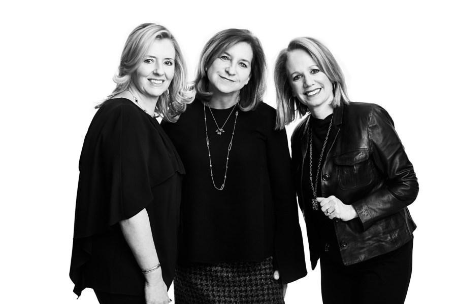Leela Petrakis, Ginger De Leo and Liz Kaplow