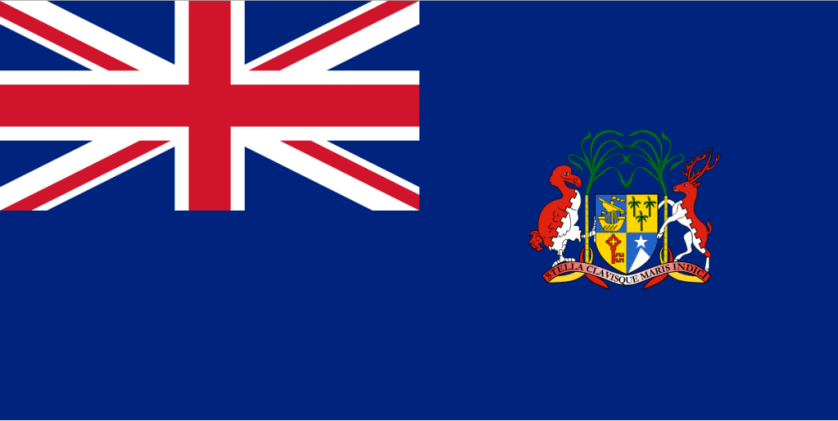 British Mauritius Flag