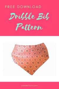 free printable dribble bib pattern