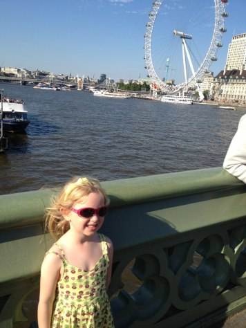 We went to London