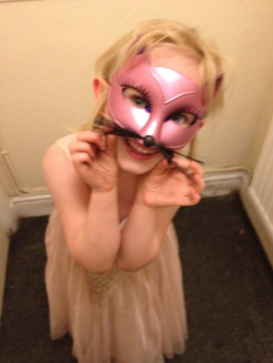 """We went to a masquerade party """"in the night!'"""