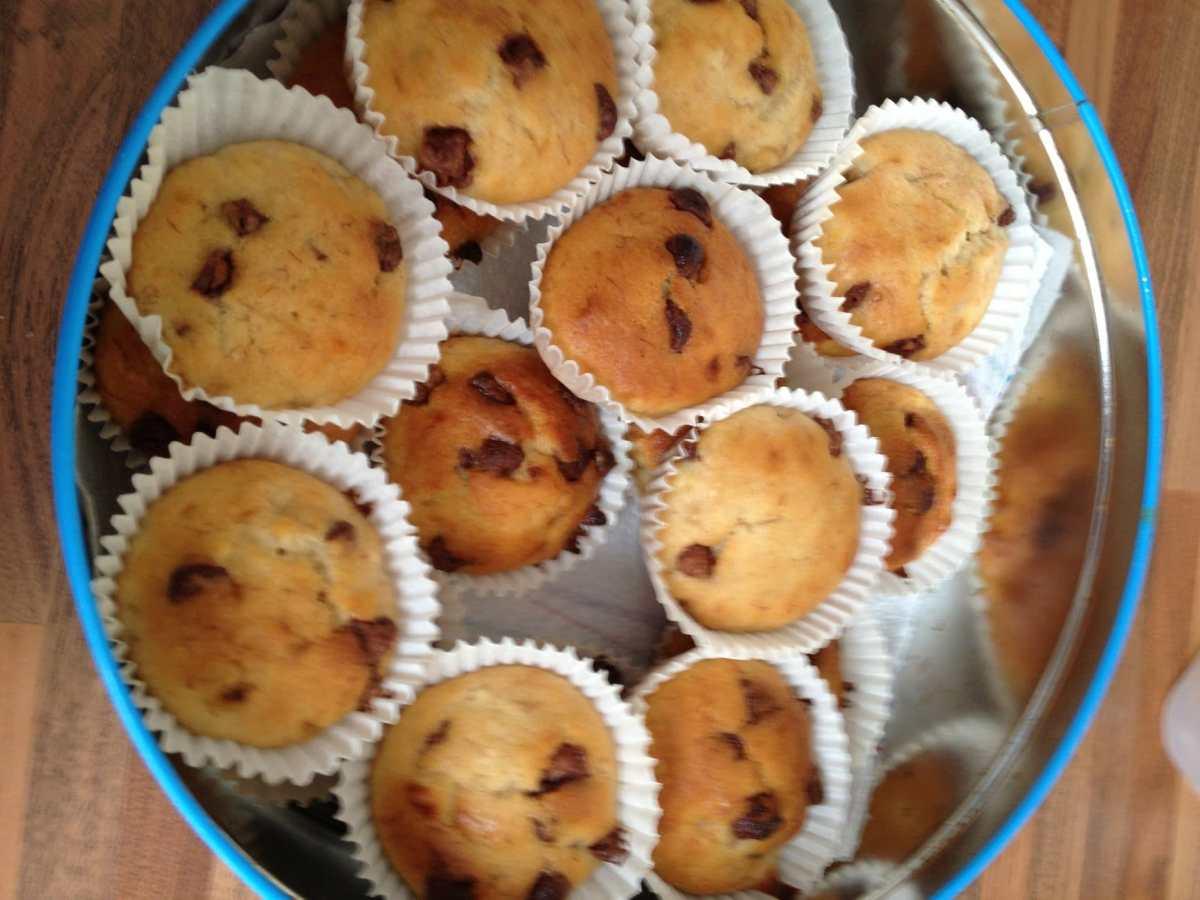 Chocolate Chip and Banana Muffins