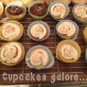Vanilla buttermilk cupcakes