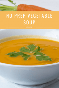 no prep vegetable soup recipe
