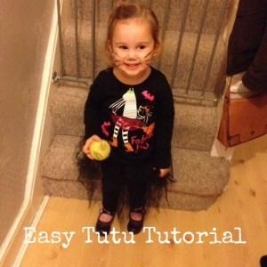 easy tutu tutorial