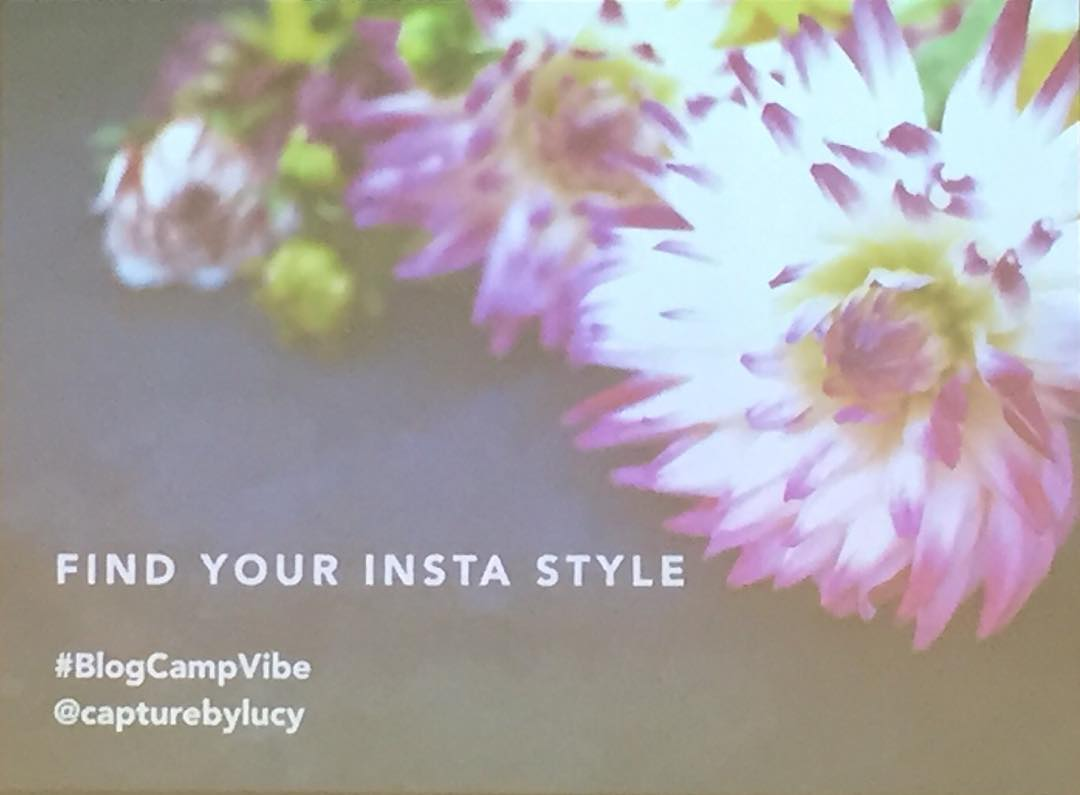 So excited for this! @capturebylucy #blogcampvibe