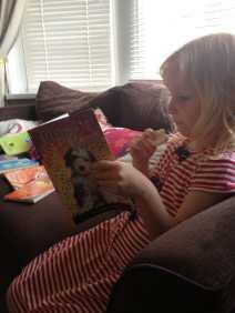 Became an excellent reader