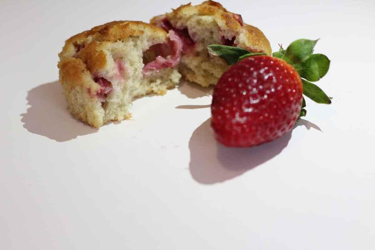 Banana and Strawberry Breakfast Muffins