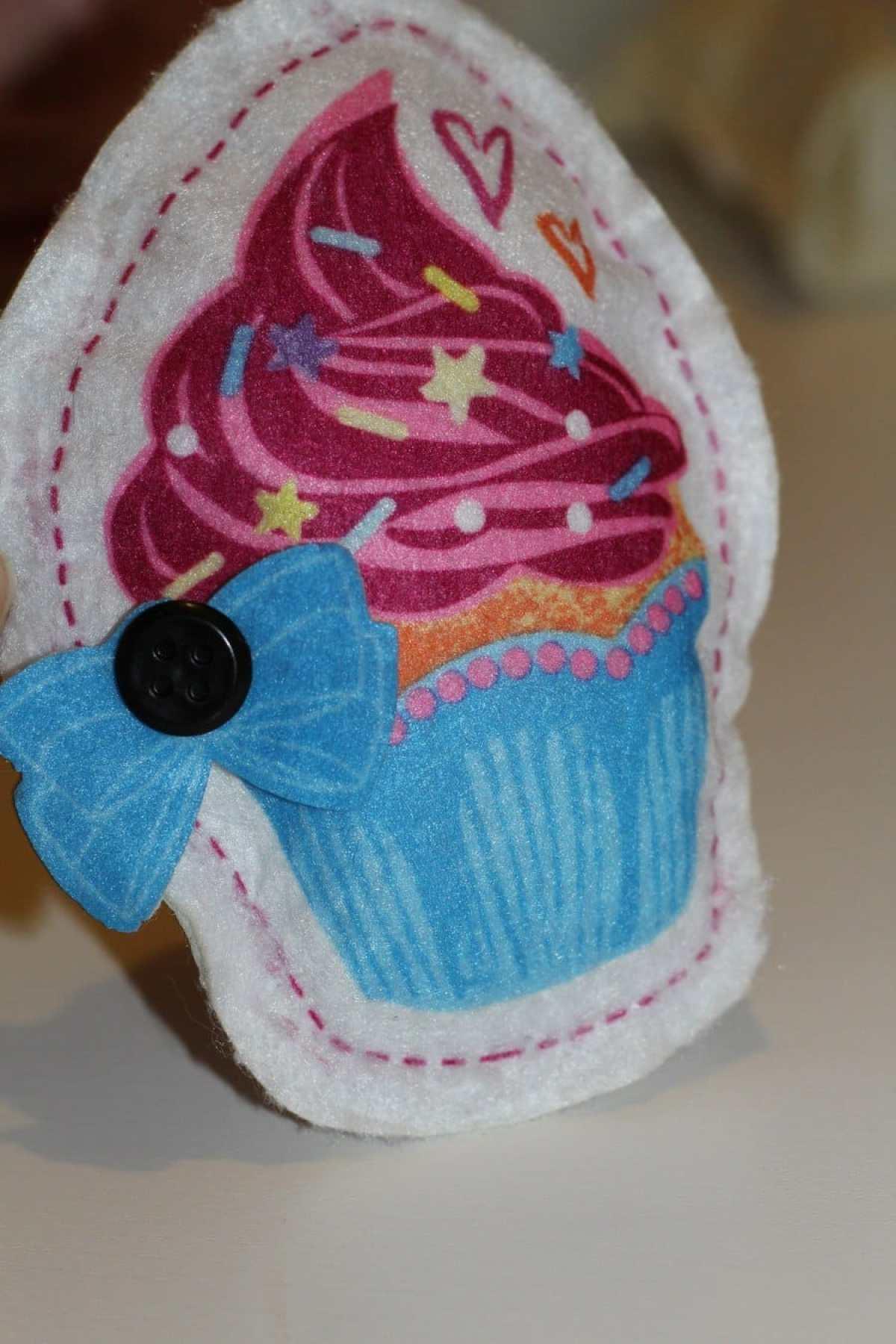 sew cool machine cupcake