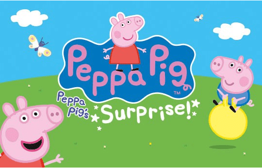 peppa pig's surprise review
