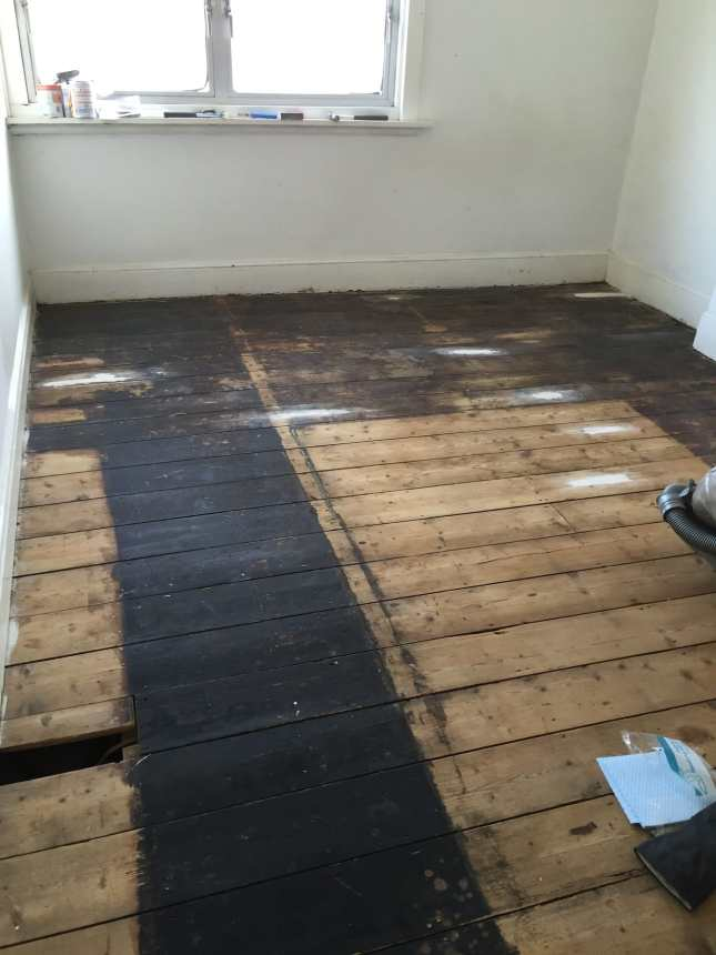 How To Paint Floorboards White with Rust-Oleum - We Made This Life