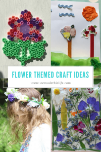 flower themed crafts