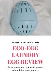 eco egg laundry egg review
