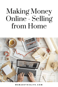 making money online - selling from home