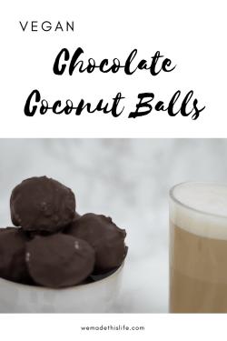 Vegan Chocolate Coconut Balls