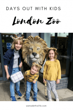 A Fun Family Day Out At London Zoo