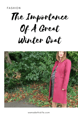 The Importance of A Great Winter Coat