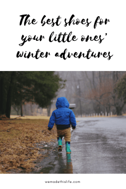 The best shoes for your little ones' winter adventures