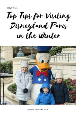 Top Tips for Visiting Disneyland Paris in the Winter