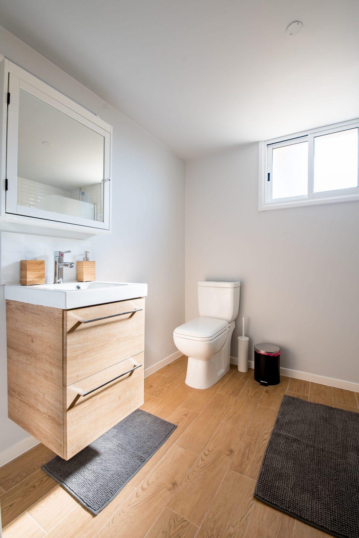 Design advice for shared bathrooms