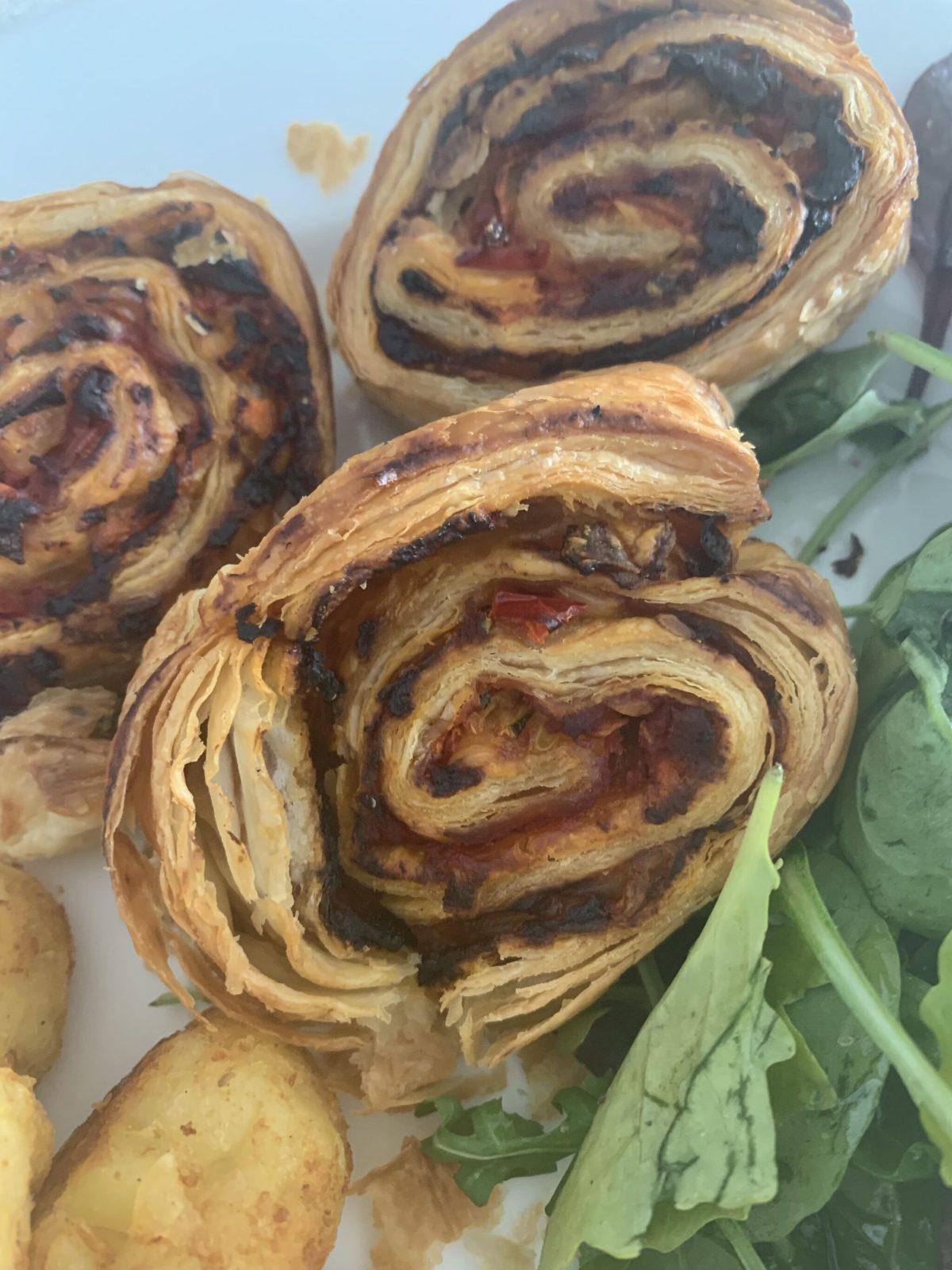 vegan hidden veg pizza rolls