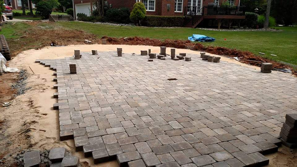 walkway or patio cost to install