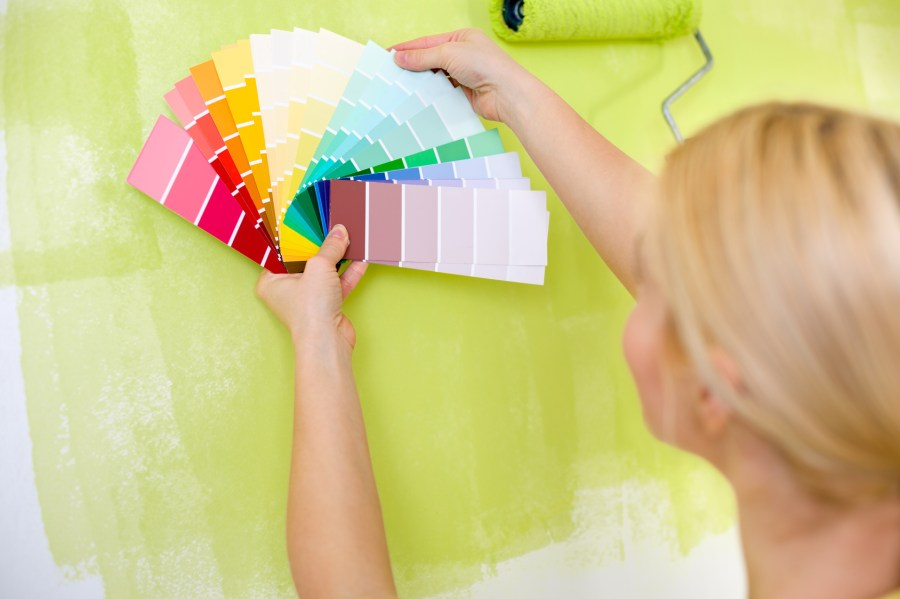 Picking the right paint will make a house your home.