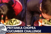 Priyanka Chopra Eats Cucumbers Fallon Tonight