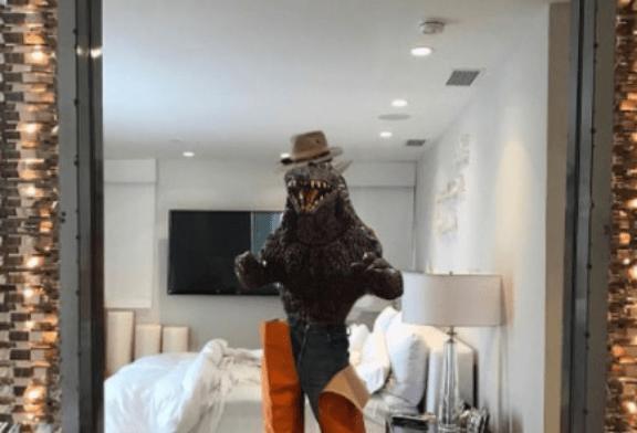 Godzilla Kardashian of The Week! (Picture)