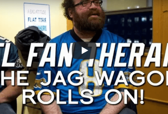 NFL FAN THERAPY: The Jag Wagon Rolls On!