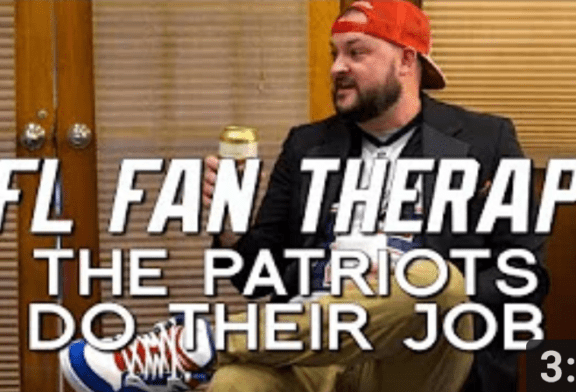 NFL FAN THERAPY: The Patriots Do Their Job